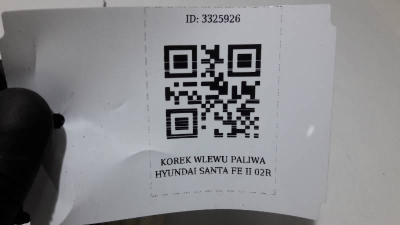 KOREK WLEWU PALIWA HYUNDAI SANTA FE II 02R