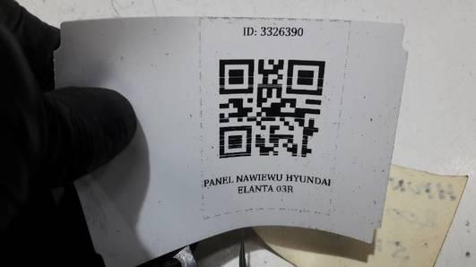 97250-2DXXX PANEL NAWIEWU HYUNDAI ELANTRA 03r