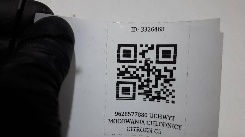 9628577880 UCHWYT MOCOWANIA CHLODNICY CITROEN C5