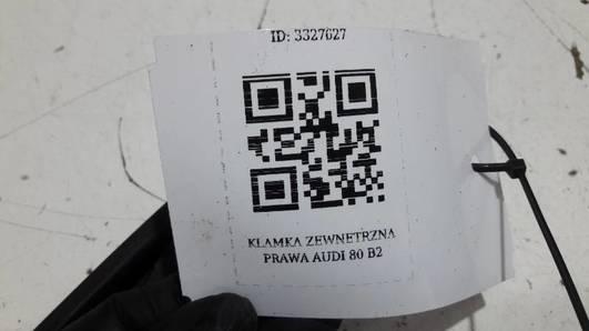 KLAMKA ZEWNETRZNA PRAWA  AUDI 80 B2