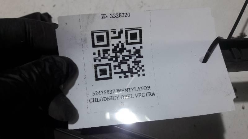 52475837 WENTYLATOR CHLODNICY OPEL VECTRA B