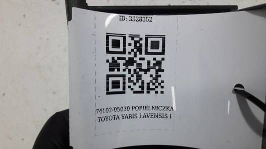 74102-05030 POPIELNICZKA TOYOTA YARIS I AVENSIS I