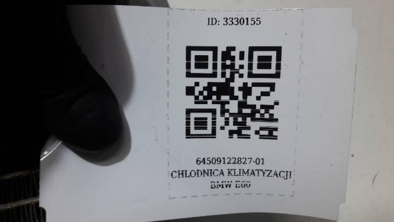 64509122827-01 CHLODNICA KLIMATYZACJI BMW E60