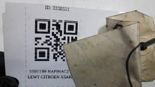 5501189 NAPINACZ PASA LEWY CITROEN XSARA 98r