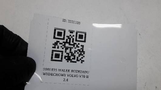 1001835 WALEK ROZRZADU WYDECHOWY VOLVO V70 II 2.4