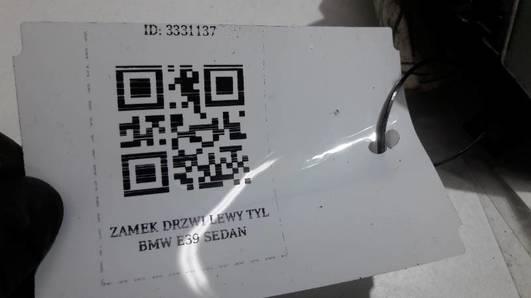 ZAMEK DRZWI LEWY TYL BMW E39 SEDAN