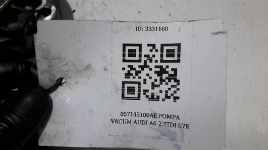 057145100AE POMPA VACUM AUDI A6 2.7TDI 07R