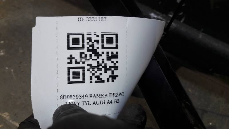 8D0839349 RAMKA DRZWI LEWY TYL AUDI A4 B5