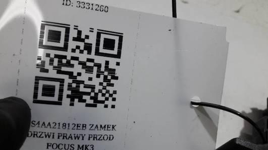 2S4AA21812EB ZAMEK DRZWI PRAWY PRZOD FOCUS MK3