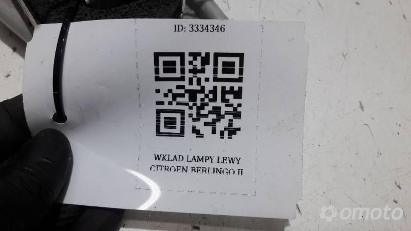 WKLAD LAMPY PRAWY CITROEN BERLINGO II