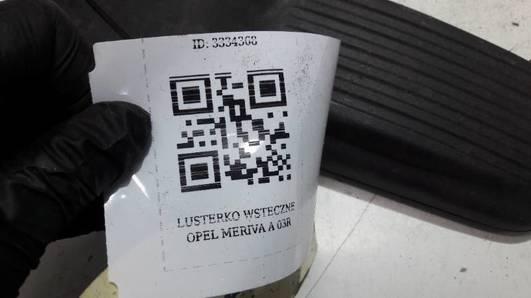 LUSTERKO WSTECZNE OPEL MERIVA A 03R