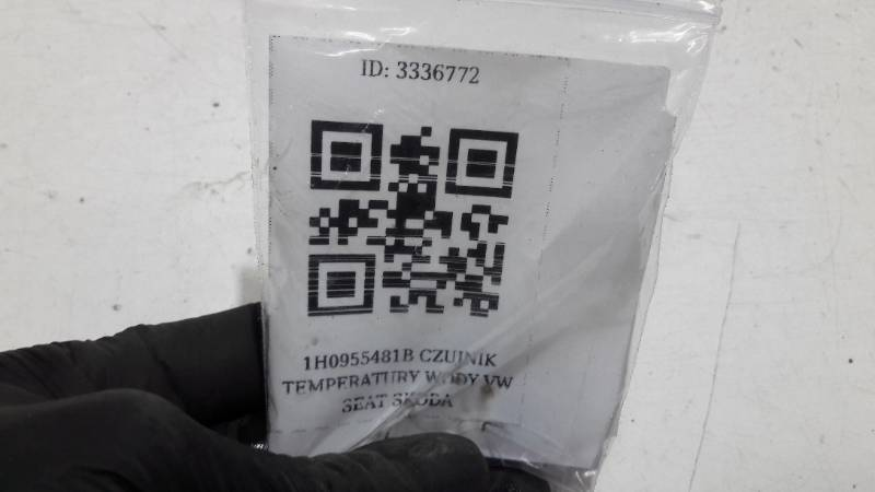1H0955481B CZUJNIK TEMPERATURY WODY VW SEAT SKODA