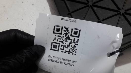 9652474680 MODUL BSI CITROEN BERLINGO