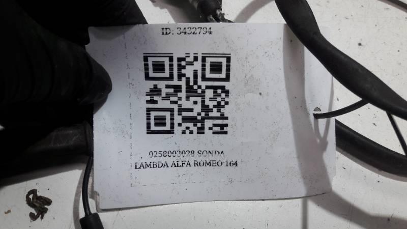 0258003028 SONDA LAMBDA ALFA ROMEO 164
