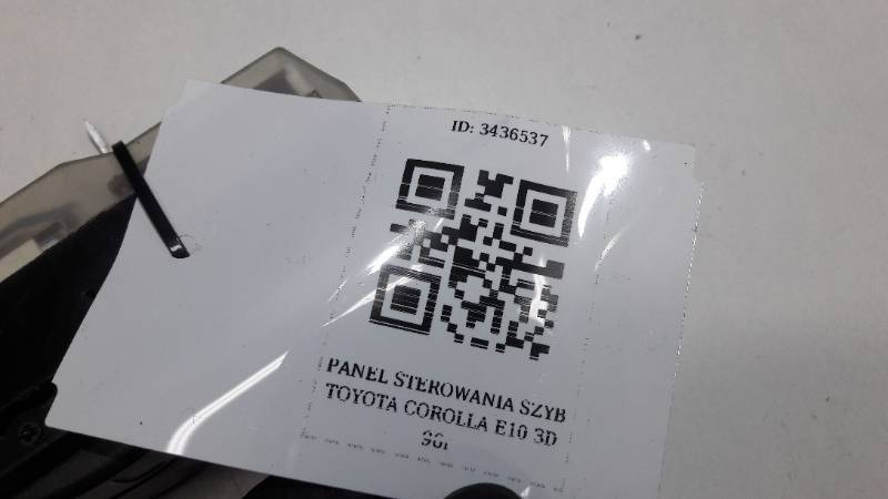 PANEL STEROWANIA SZYB TOYOTA COROLLA E10 3D 96r