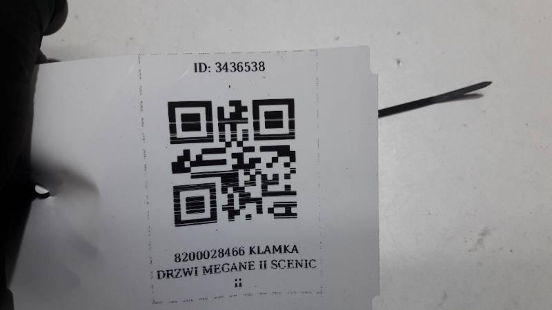 8200028466 KLAMKA DRZWI MEGANE II SCENIC II