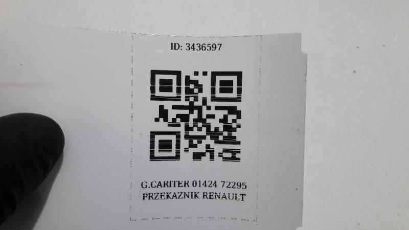 G.CARITER 01424 72295 PRZEKAZNIK  RENAULT