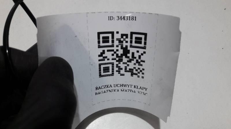 RACZKA UCHWYT KLAPY BAGAZNIKA MAZDA 323C