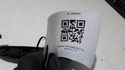 RAMIE WYCIERACZKI TYL MAZDA 323C
