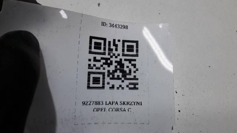 9227883 LAPA SKRZYNI OPEL CORSA C