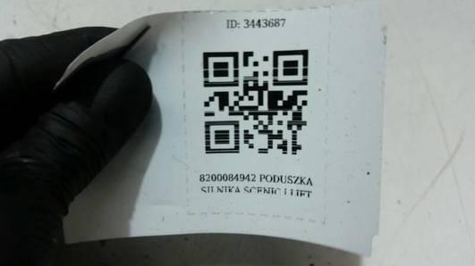 8200084942 PODUSZKA SILNIKA SCENIC I LIFT