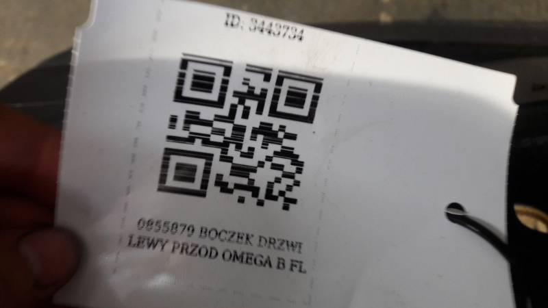 0855879 BOCZEK DRZWI LEWY PRZOD OMEGA B FL