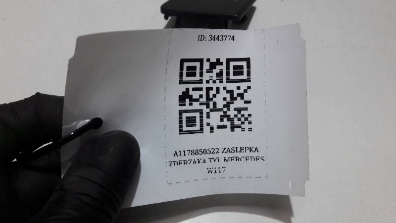 A1178850522 ZASLEPKA ZDERZAKA TYL MERCEDES W117