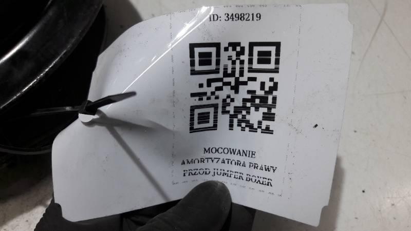 MOCOWANIE AMORTYZATORA PRAWY PRZOD JUMPER BOXER