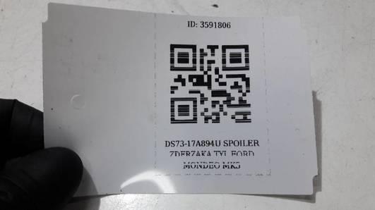 DS73-17A894U SPOILER ZDERZAKA TYL FORD MONDEO MK5