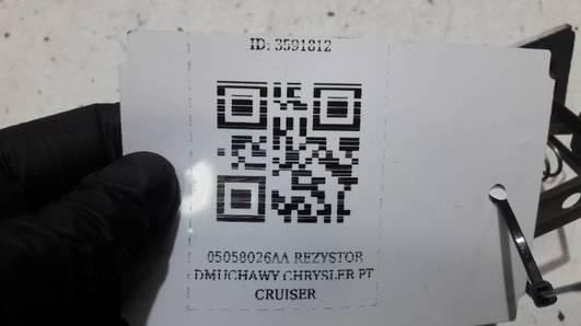 05058026AA REZYSTOR DMUCHAWY CHRYSLER PT CRUISER