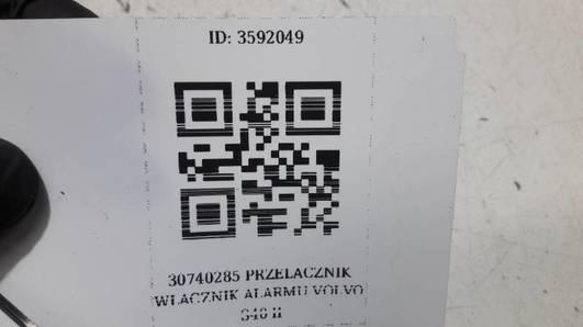 30740285 PRZELACZNIK WLACZNIK ALARMU VOLVO S40 II