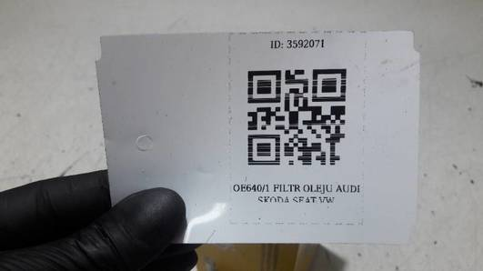 OE640/1 FILTR OLEJU AUDI SKODA SEAT VW