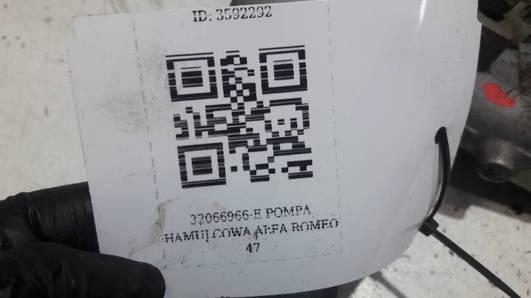 32066966-E POMPA HAMULCOWA ALFA ROMEO 47 1.9JTD