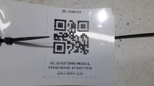 8375840 MODUL STEROWNIK KOMPUTER EWS BMW E36