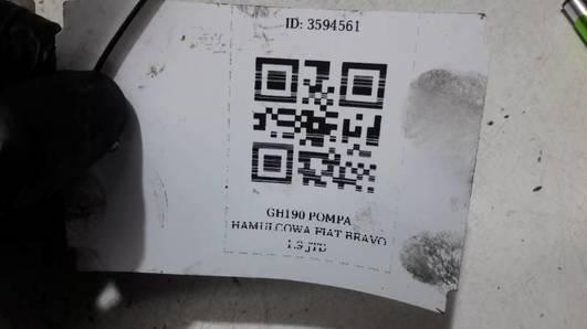 GH190 POMPA HAMULCOWA FIAT BRAVO 1.9 JTD