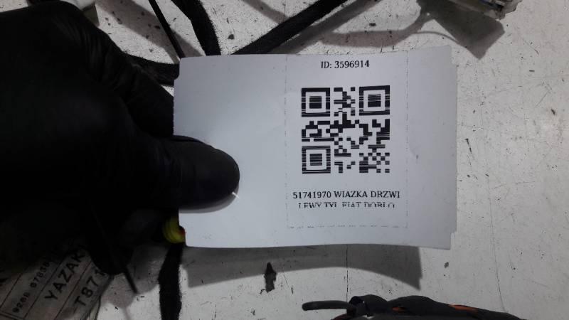51741970 WIAZKA DRZWI LEWY TYL FIAT DOBLO