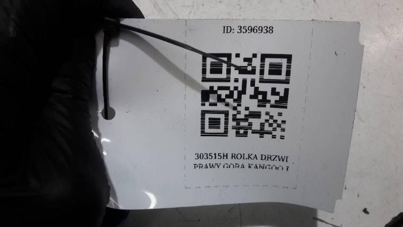 303515H ROLKA DRZWI PRAWY GORA KANGOO I