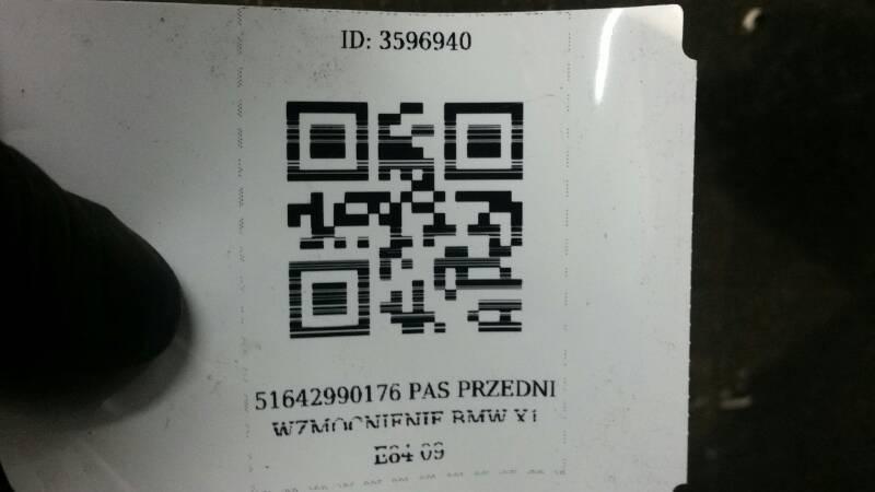 51642990176 PAS PRZEDNI WZMOCNIENIE BMW X1 E84 09