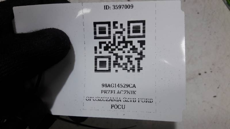 98AG14529CA PRZELACZNIK OPUSZCZANIA SZYB FOCUS MK1