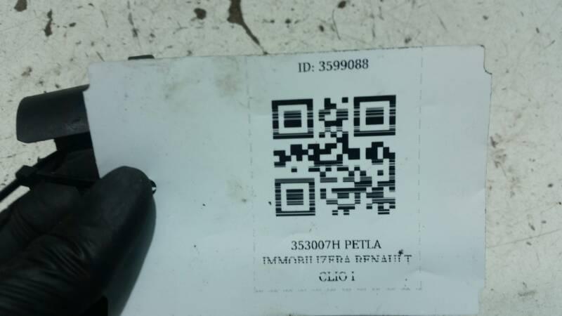 353007H PETLA IMMOBILIZERA RENAULT CLIO I