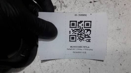 9634051880 PETLA IMMOBILIZERA CITROEN PICASSO 01R