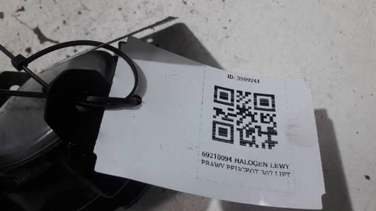 89210094 HALOGEN LEWY RENAULT MEGANE II
