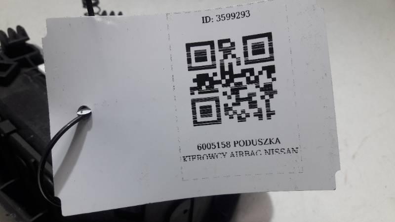 6005158 PODUSZKA KIEROWCY AIRBAG  NISSAN