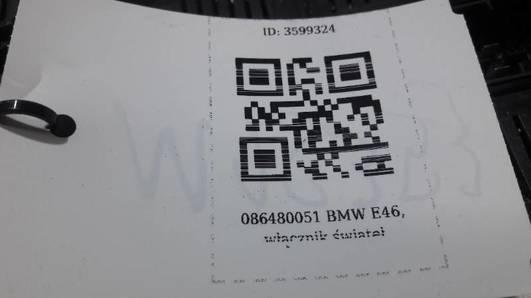 6901429 086480051 WLACZNIK SWIATEL BMW E46
