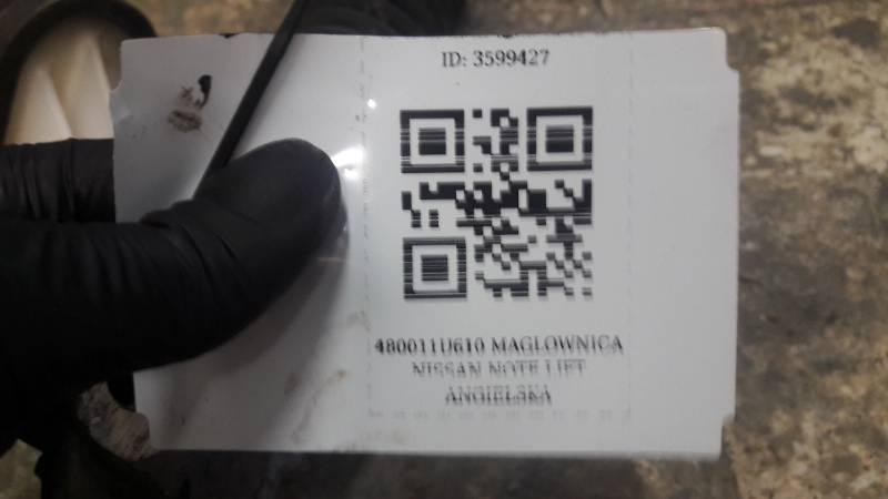 480011U610 MAGLOWNICA NISSAN NOTE LIFT