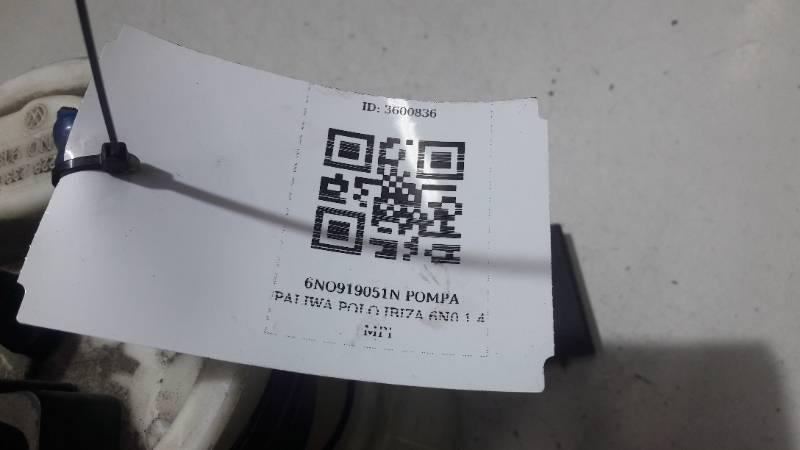 6N0919051N  POMPA PALIWA POLO IBIZA 6N0 1.4 MPI
