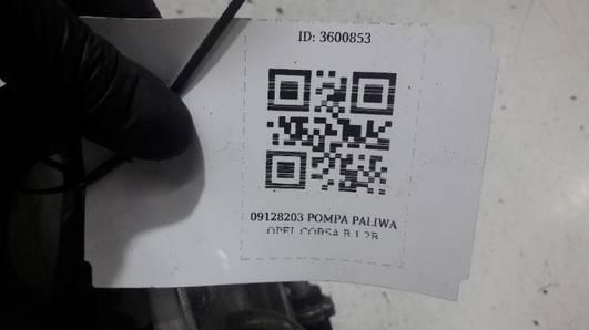 09128203 POMPA PALIWA OPEL CORSA B 1.2B