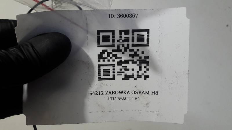 64212 ZAROWKA OSRAM H8 12V 35W U E1
