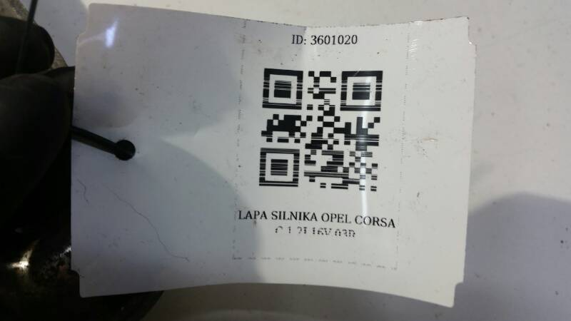 LAPA SILNIKA OPEL CORSA C 1.2I 16V 03R