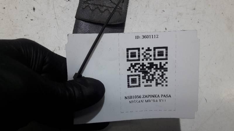 NSB1056 ZAPINKA PASA NISSAN MICRA K11